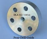 DLA 116cc propeller drill guide