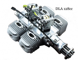 DLA 128cc Quad Boxer GAS Engine